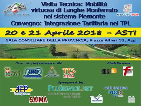 Iveco Orecchia è sponsor del convegno: Integrazione tariffaria nel TPL.