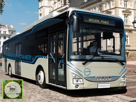 "Crossway Low Entry Natural Power premiato ""Sustainable Bus of the Year 2018"""