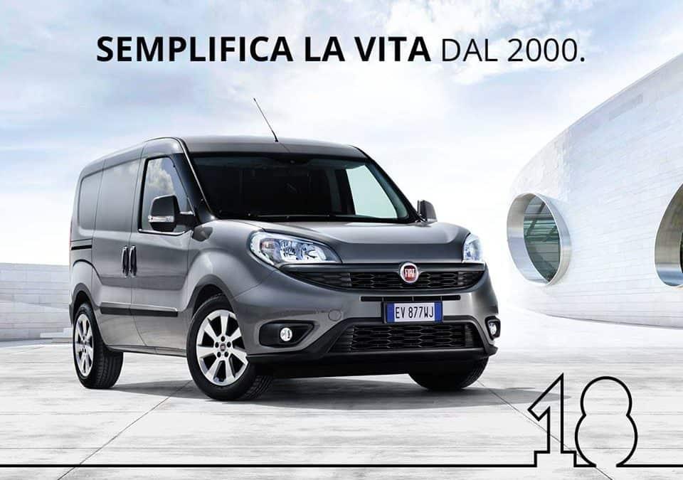 Sapete che quest'anno Fiat Doblò compie 18 anni?