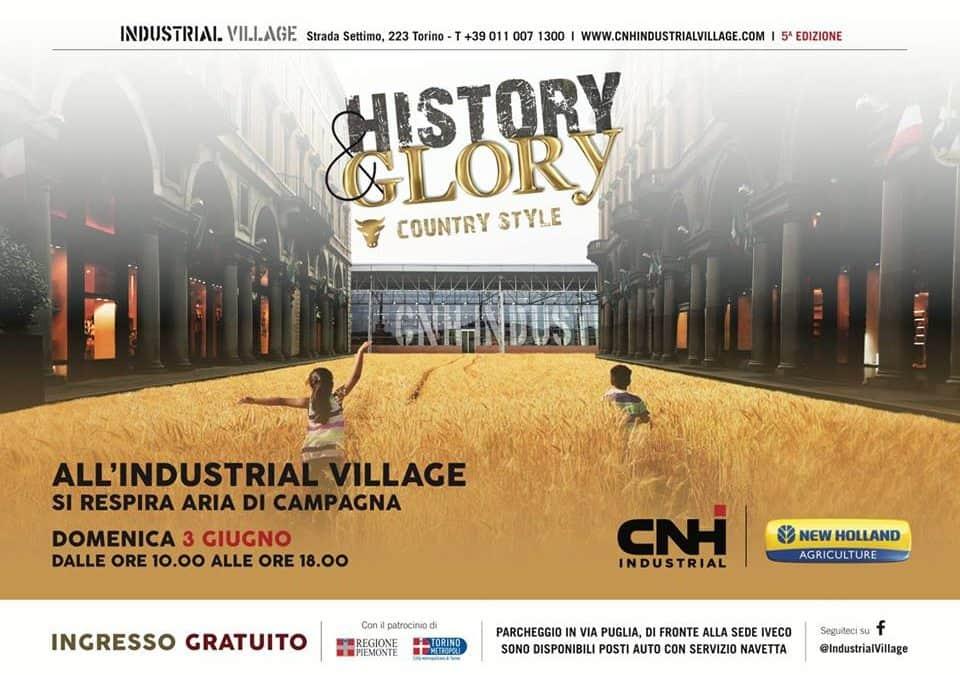 HISTORY & GLORY al CNH Industrial Village – QUINTA EDIZIONE