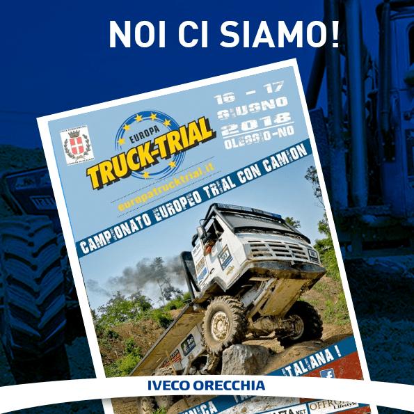 Iveco Orecchia all'Europa TRUCK TRAIL Italy 2018