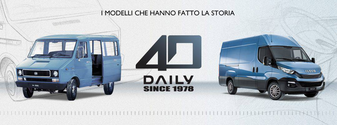 1978 – 2018: Iveco Daily compie 40 anni!