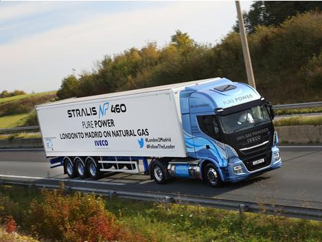 Stralis NP 460: PURE POWER