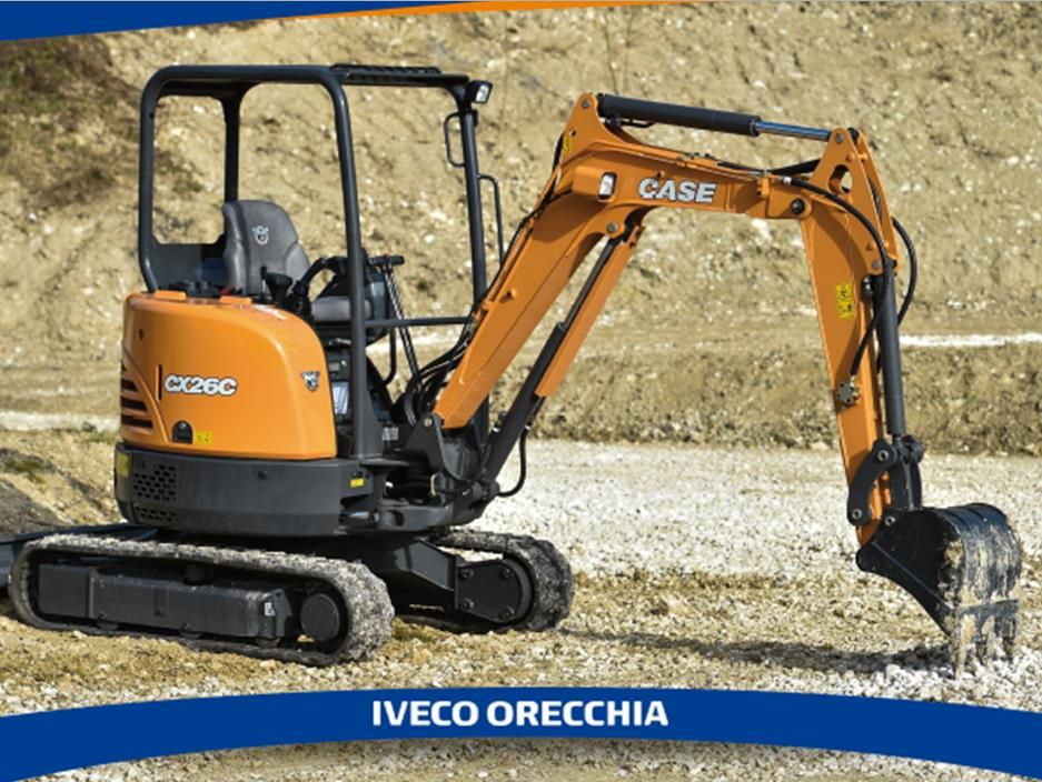 Promo CX26C Case Construction