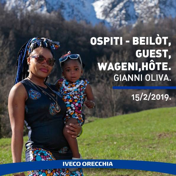 """Iveco Orecchia sostiene la mostra dal titolo """"Ospiti beilòt, guest, wageni, hôte"""""""