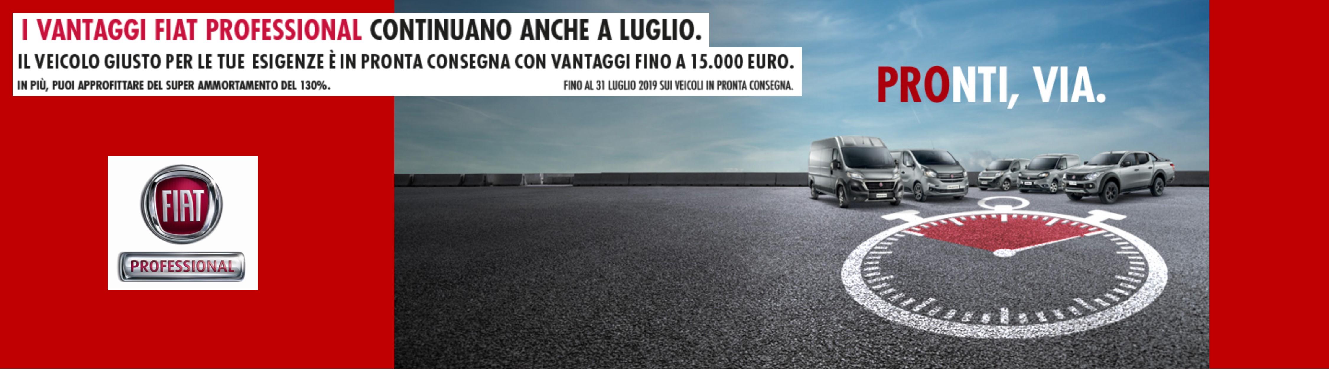 Vantaggi Fiat Professional
