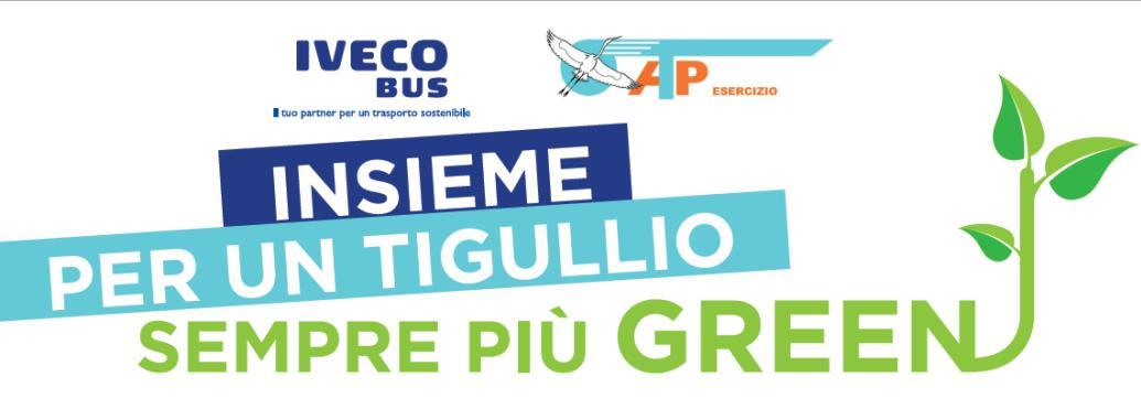 Iveco Daily MiniBus elettrico è presente alla riapertura della strada per Portofino!
