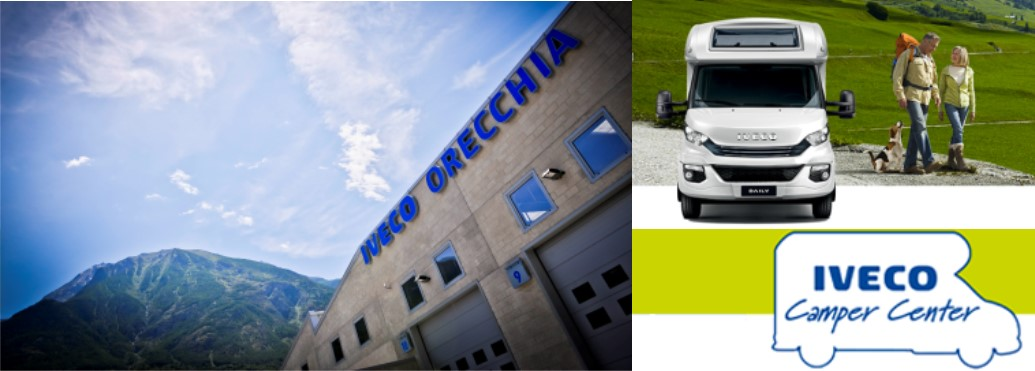 La nostra officina di Quart (Aosta) nominata IVECO CAMPER CENTER 2019!