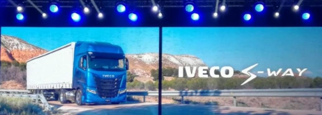 Eccolo! Presentato il nuovo IVECO S-WAY