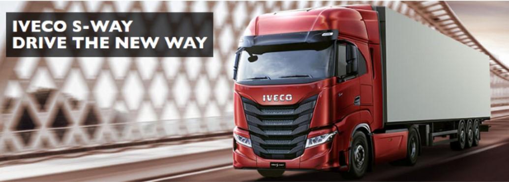 Novità di prodotto: ecco la nuova cabina dell'IVECO S-WAY!