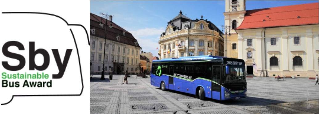 "Iveco Bus CROSSWAY Natural Power è ""Sustainable Bus of the Year 2020""!"