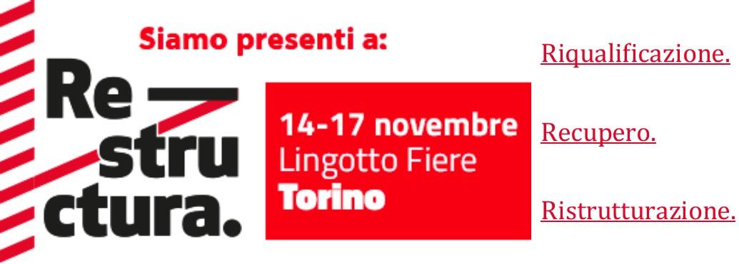 Iveco Orecchia partecipa a Restructura 2019: dal 14 al 17 Novembre