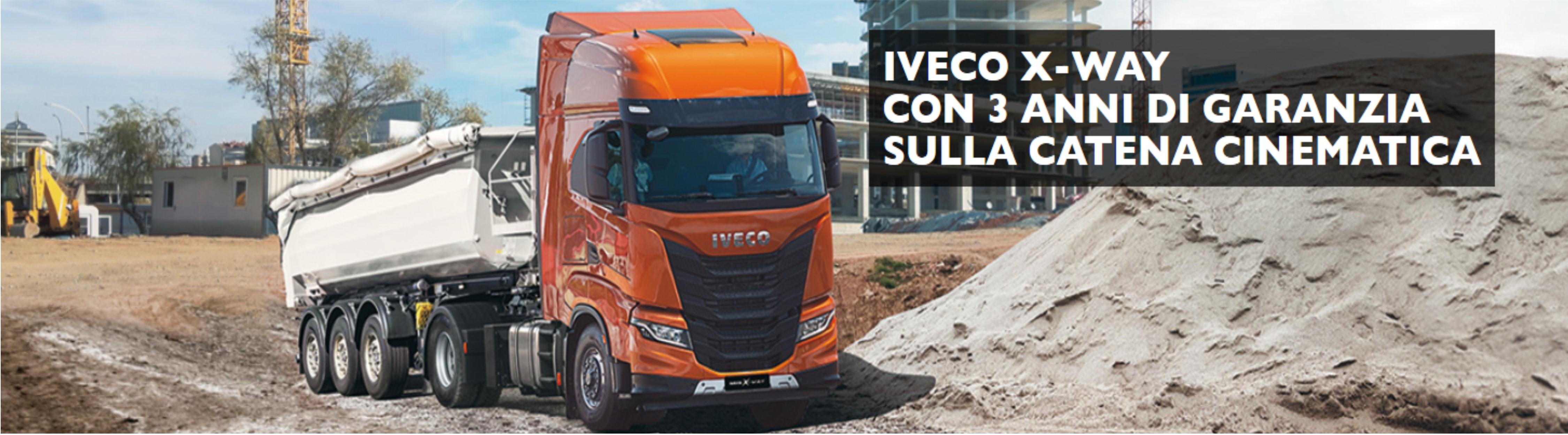 "Iveco X-Way trattore: il ""Perfect Crossing"""