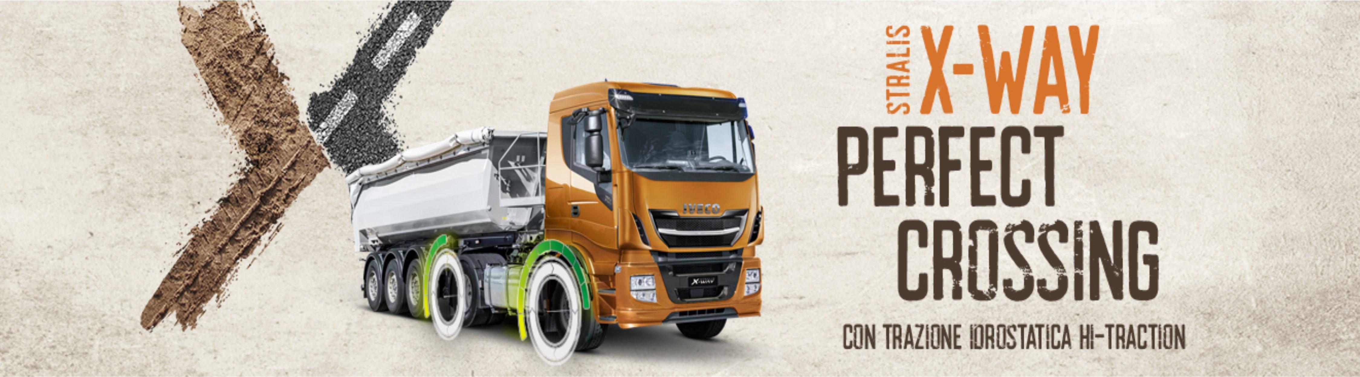 Stralis X-Way trattore: offerta!
