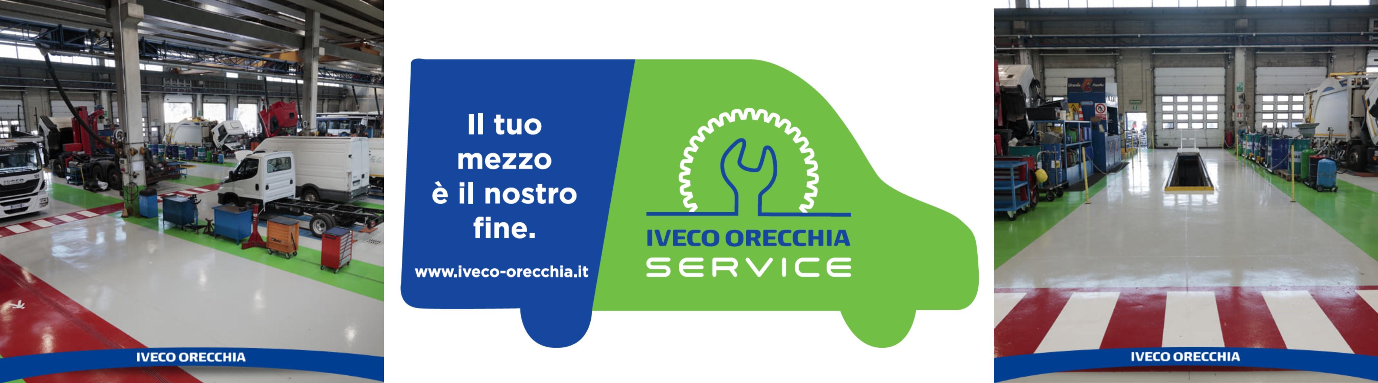 Iveco Orecchia officina: i nostri servizi