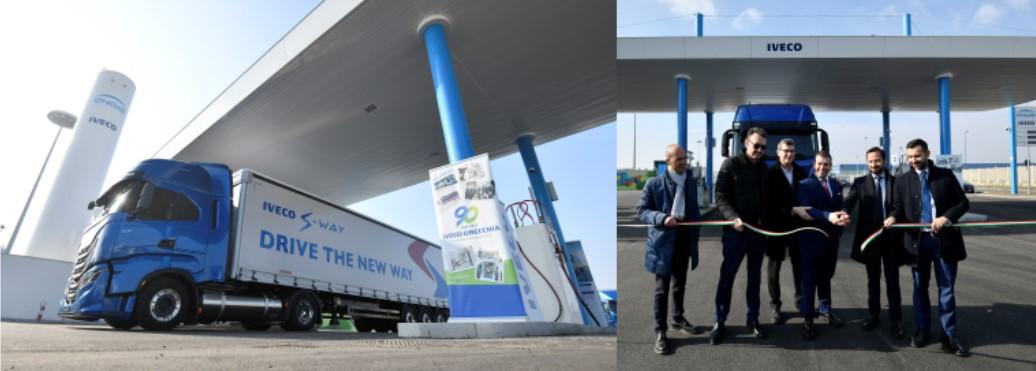 ENGIE e IVECO inaugurano una nuova stazione di rifornimento di gas naturale