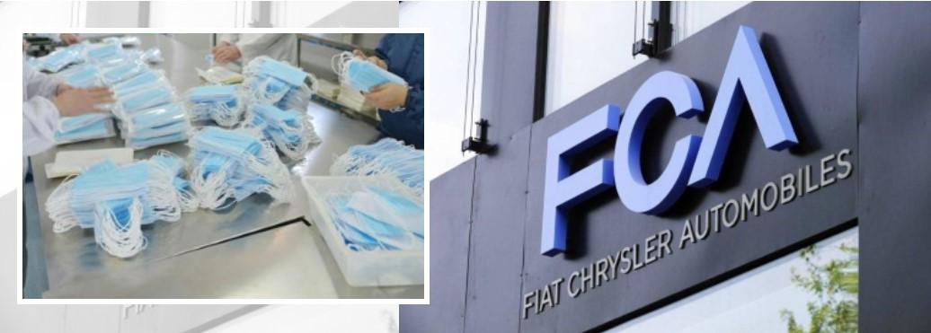 Coronavirus, Fca converte stabilimento per produrre mascherine.