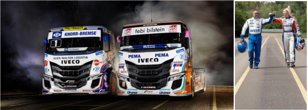 IVECO presenta i nuovi camion da competizione IVECO S-WAY R