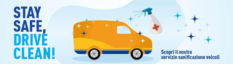 Servizio di igienizzazione e sanificazione dei veicoli: Stay Safe, Drive Clean!