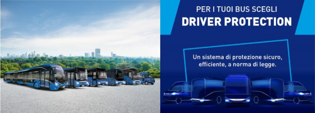 DRIVER PROTECTION: Anti-Covid, Anti-Intrusione e comfort per chi guida!
