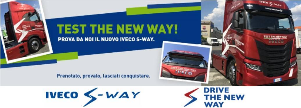 Ripartono i nostri test-drive: il nuovo Iveco S-Way vi aspetta!