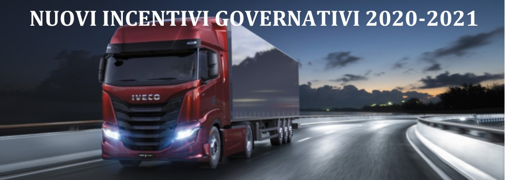 Ecco i nuovi incentivi 2020/2021 per acquisizione di veicoli commerciali