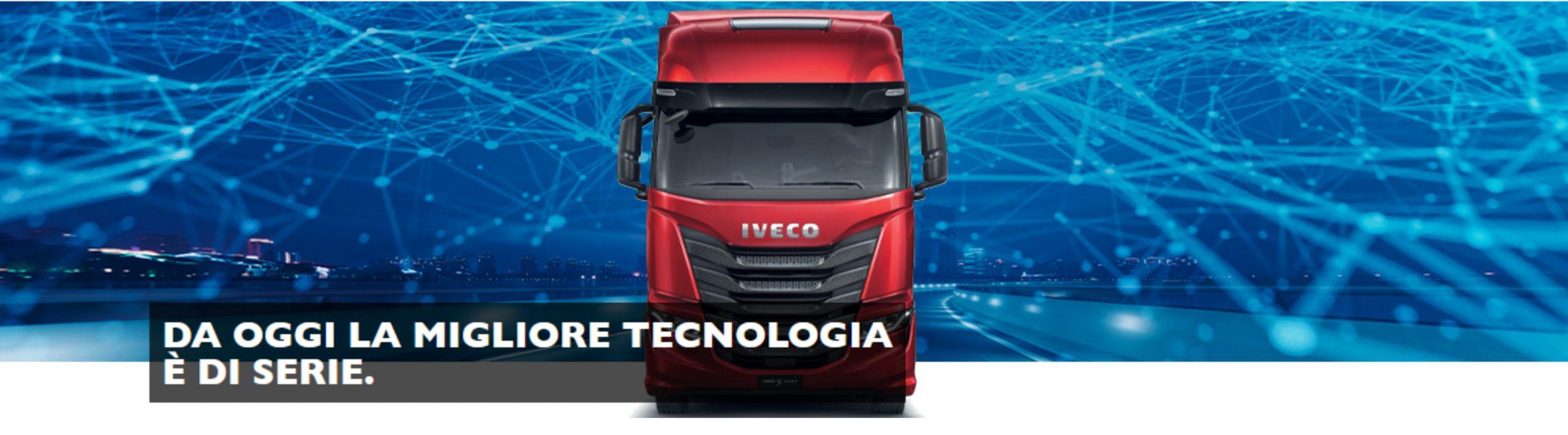 Nuovo Iveco S-Way: la migliore tecnologia è di serie.