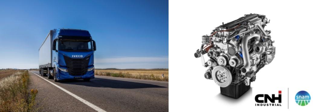 FPT Industrial, IVECO e Snam: accordo per la decarbonizzazione dei trasporti attraverso la biomobilità e l'idrogeno