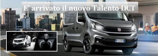 Fiat Professional: è arrivato il nuovo Talento DCT.