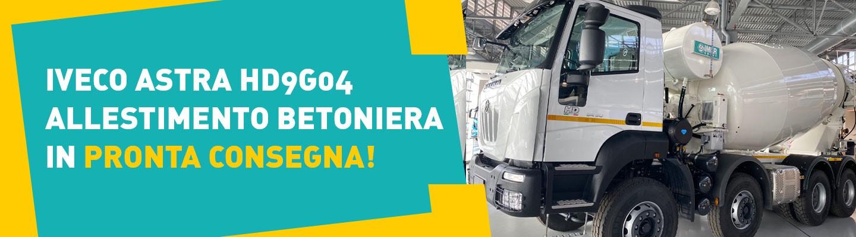 IVECO ASTRA HD9G04 ALLESTIMENTO BETONIERA IN PRONTA CONSEGNA!