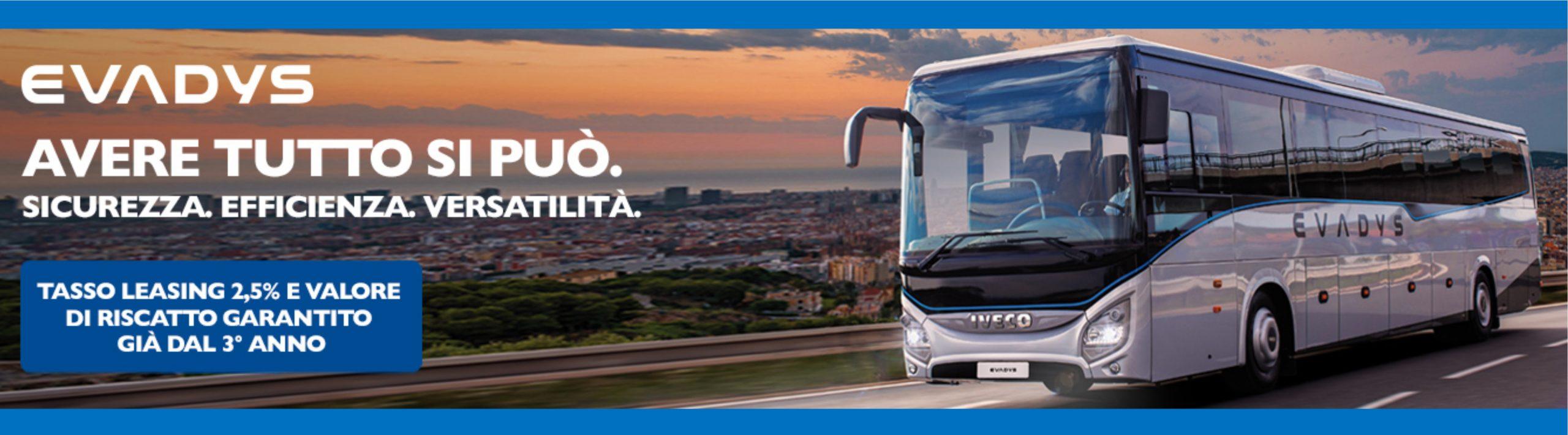 Il TUO nuovo autobus turistico? Oggi a Tasso davvero eccezionale!
