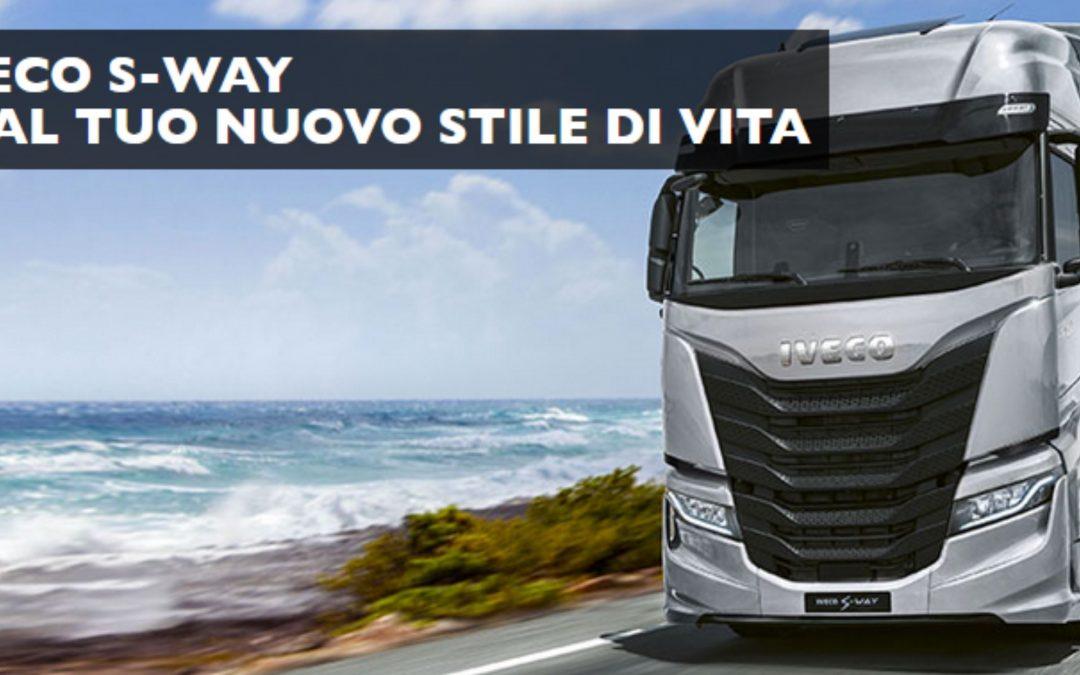 Il nuovo IVECO S-WAY: il veicolo 100% connesso e smart che porta il focus sul cliente e l'efficienza a un nuovo livell