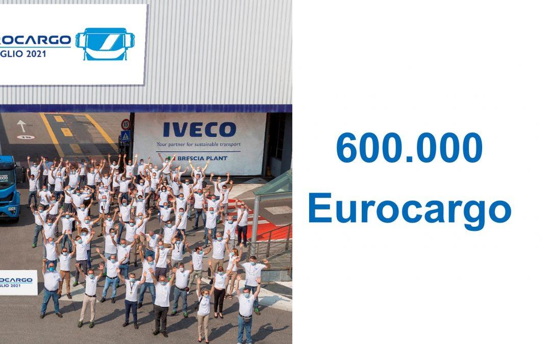 IVECO celebra il 600.000esimo Eurocargo prodotto nell'iconico stabilimento di Brescia