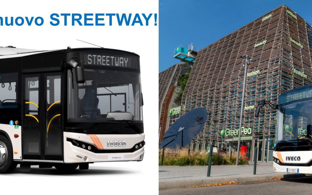 IVECO BUS presenta il nuovo STREETWAY ed estende la propria offerta con un autobus efficiente e ottimizzato per la mobilità urbana