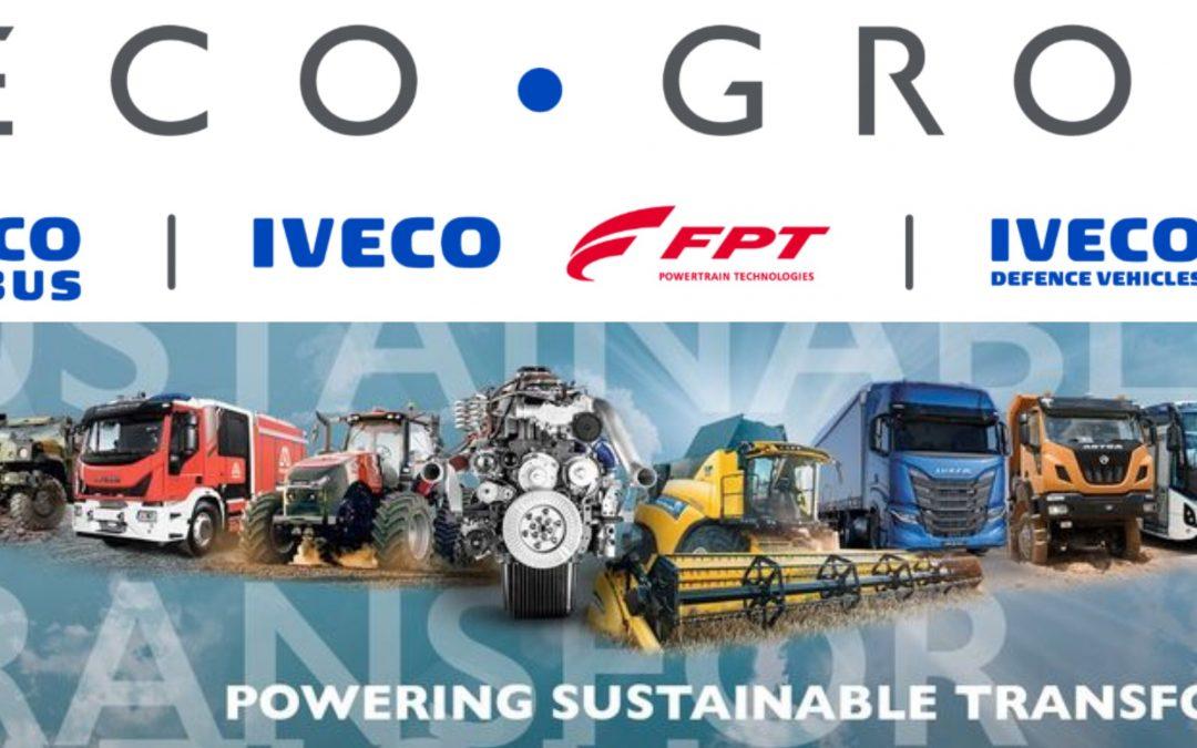 Il nome e il logo di Iveco Group inaugurano il futuro del nuovo player On-Highway